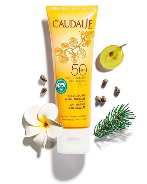 Crème Solaire Visage SPF50 Anti-rides